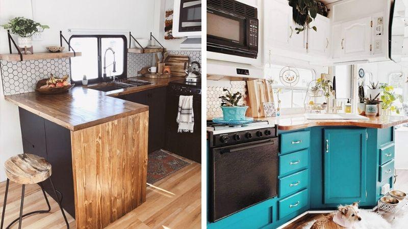 Bobil kjøkken oppussing – Forny kjøkken i bobil og caravan